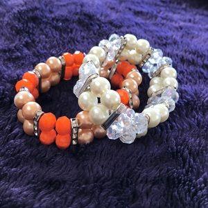 Jewelry - Lot of 2 stretch bracelets